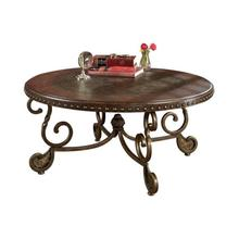 See Details - Ashley Rafferty Round Cocktail Table