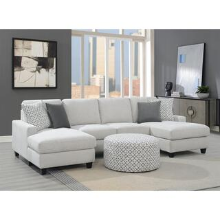 See Details - Walker Dual Chaise Sectional