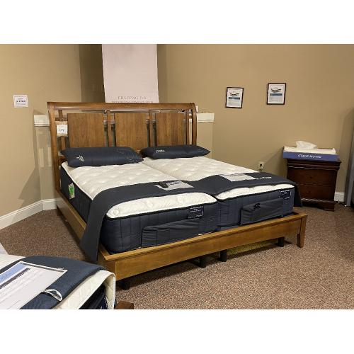 *AS IS* Clearance Hardwood King Bed