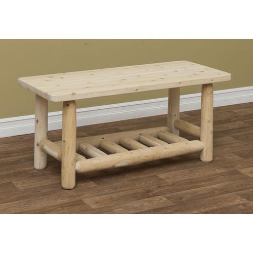 Rustic Countryside Log Furniture - Adirondack Coffee Table