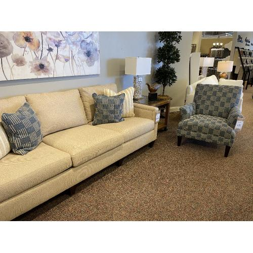 Mayo Furniture - Etiquette Sofa by Mayo in 'Butter'