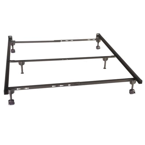 Glideaway Bed Frame Queen w/ Rug Rollers