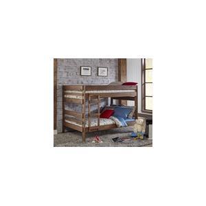 Chestnut Full over Full Bunk Bed