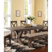 Tuscany Park Dining Table and 4 Chairs with Bench