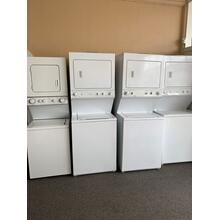 "REFURBISHED 24"" and 27"" Washer Dryer Stack Set. (manufacturer and models change daily, please call or visit our store to confirm what is currently available). Prices vary based on condition, age, model, and features"