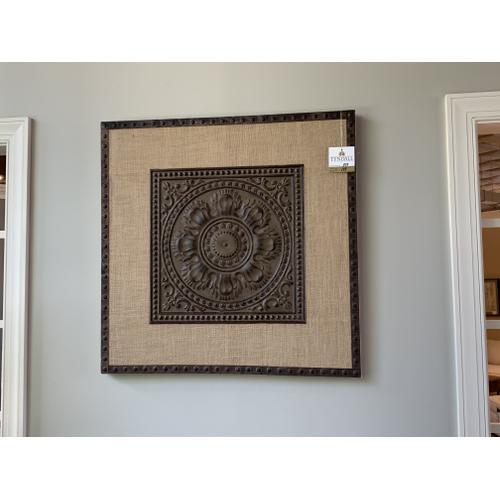 Tyndall Furniture & Mattress - Burlap and Iron Wall Art