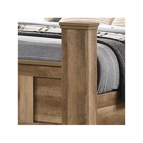 Elements - Salerno Queen Bed (Headboard/Footboard/Posts/Rails)