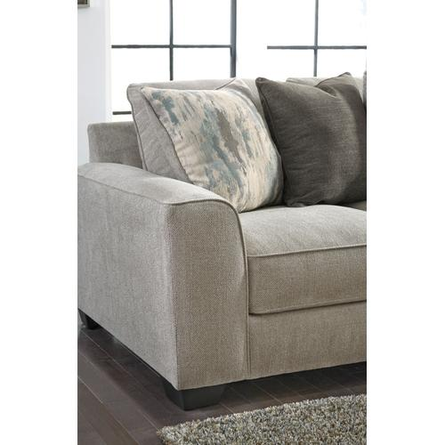 Benchcraft - Ardsley 3 Pc. Sectional Pewter