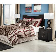 B217 3PC Set: Queen/Full Panel Headboard & Nightstand w/ Frame
