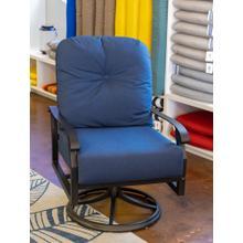 See Details - Cortland Cushion Swivel Rocking Lounge Chair
