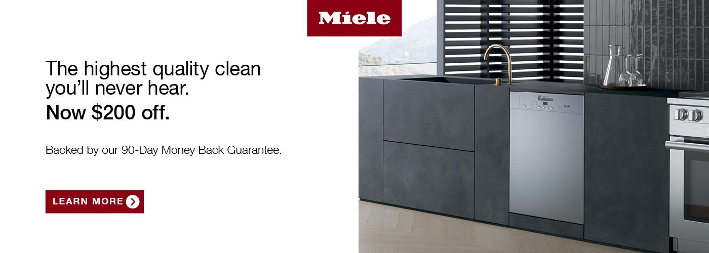 $200 Off on Miele G4228SCUSS Dishwasher