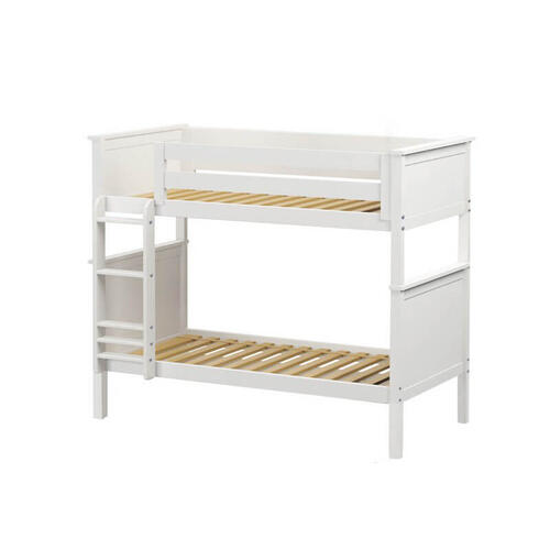 Jackpot Bristol Twin/Twin Bunk In White Finish
