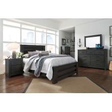 See Details - Brinxton - Queen Poster Bed, Dresser, Mirror, & 1 X Nightstand