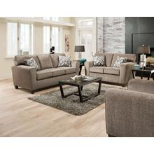 Cornell Pewter Sofa & Loveseat
