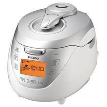 CUCKOO IH Pressure RICE COOKER l CRP-HR0867F White Silver (8 Cup)