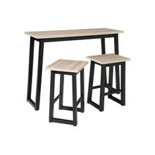 Product Image - Rect..Drm Ctr Table w/Stools