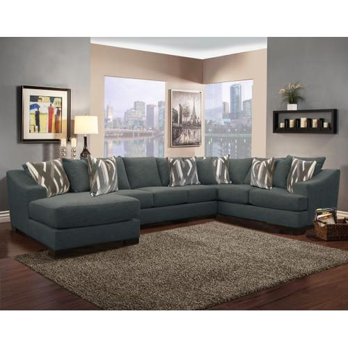 Comfort Industries - Atlas Sectional- Living Charcoal