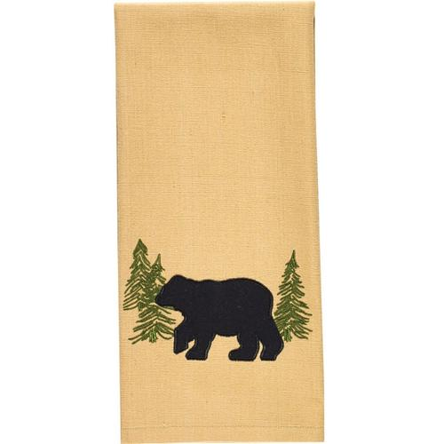 Black Bear Dishtowel