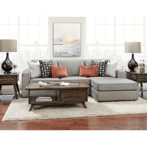 Fusion Furniture - Monroe Ash Sectional