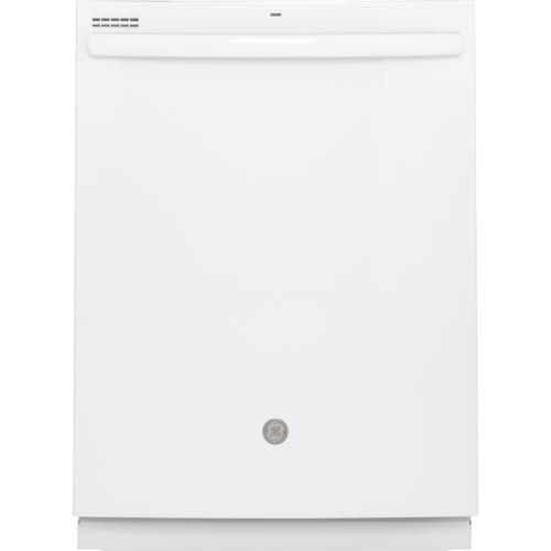 GE Appliances - GE Top Control with Plastic Interior Dishwasher with Sanitize Cycle & Dry Boost