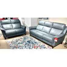 See Details - Leather Power Reclining Sofa & Loveseat (FLOOR MODEL-AS IS)