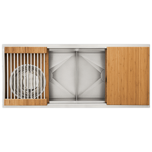 The Galley Workstation - Ideal Workstation 4 Double-Bowl