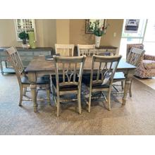 Plymouth Rectangular Dining Set with 6 Chairs