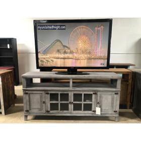 """72"""" TV Console Gray"""