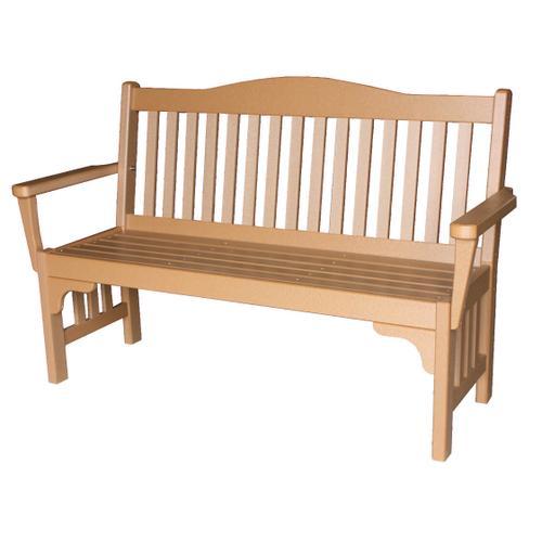 5' Mission Park Bench