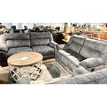 Last Chance Slate Reclining Sofa & Loveseat