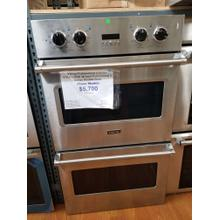 """See Details - Viking Professional 5 Series 30"""" Double Wall Oven VDOE130SS (FLOOR MODEL)"""