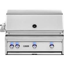 Built-In Propane Gas Grill with Pro Sear Burner and Rotisserie, 36-Inch