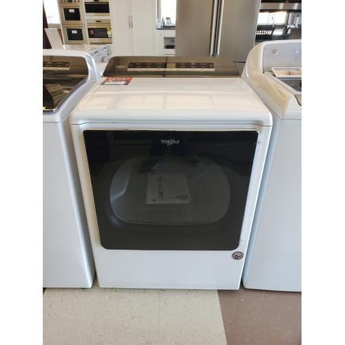 Whirlpool - 8.8 cu. ft. Smart Capable Top Load Electric Dryer