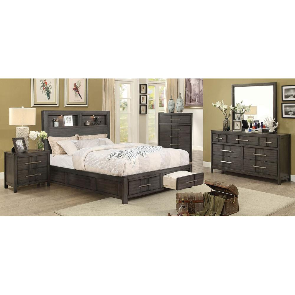 See Details - Karla 4Pc Queen Bed Set