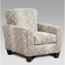 Whirlwind Rhodium Accent Chair