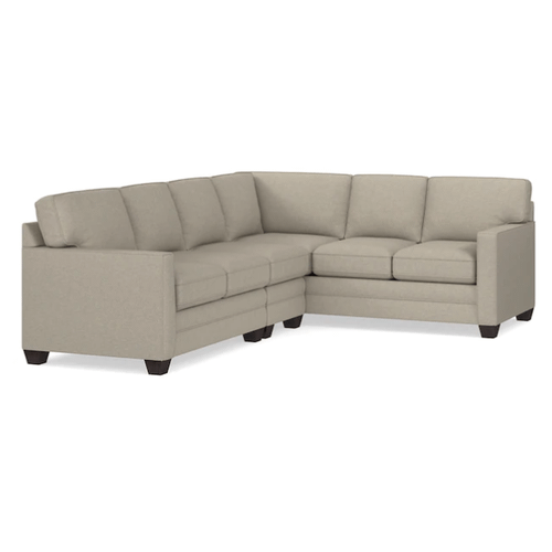 Alex Track Arm Left Sectional - Straw