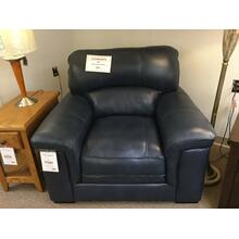 Warehouse M & Associates Inc. 3302-1 FD Blue Leather Chair