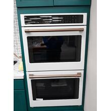 """Product Image - CLOSEOUT FLOOR MODEL Cafe 30"""" Smart Double Wall Oven with Convection"""