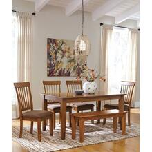 5 pc. Rectangular Dining Room Set, Bench Optional