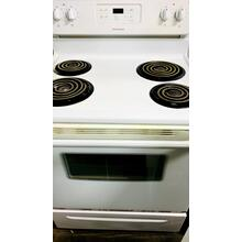 USED- Frigidaire 30'' Freestanding Electric Range- E30WHCOIL-U SERIAL #24