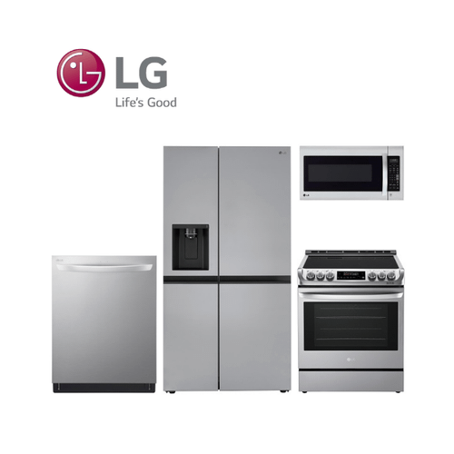 View Product - LG 4 Piece Stainless Steel Kitchen Package