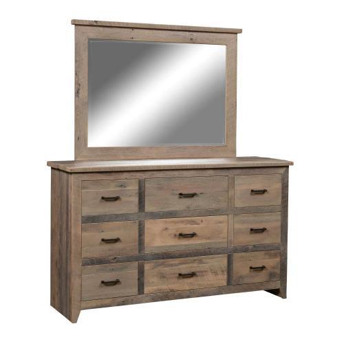 Amish Furniture - Authentic Reclaimed Barnwood Dresser