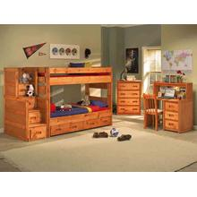 Wrangler Bunk Bed with Mattresses