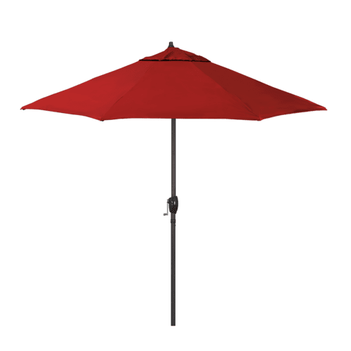 California Umbrella - Casa Series 9' Umbrella - Jockey Red