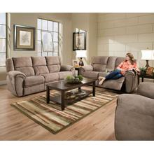 UNITED 50436-53-63-19RG Osborne Tan Reclining Sofa, Console Reclining Loveseat & Rocker Recliner Group