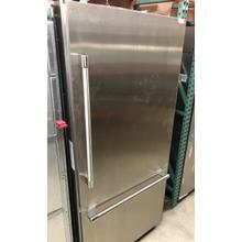 See Details - 36-Inch Built-in Stainless Steel Professional Two Door Bottom Freezer