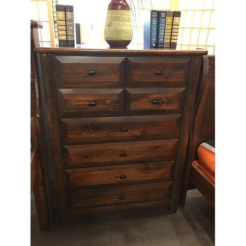8 Drawer Chest American Chestnut