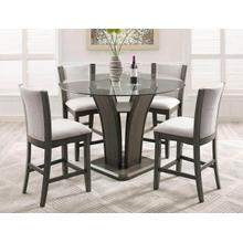 Camelia- Gray  5pc Counter Height Set
