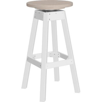 Bar Stool Premium Birch and White