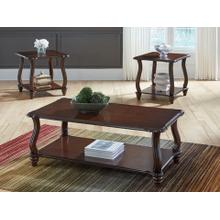 Carshaw 3 Piece Occasional Table Set